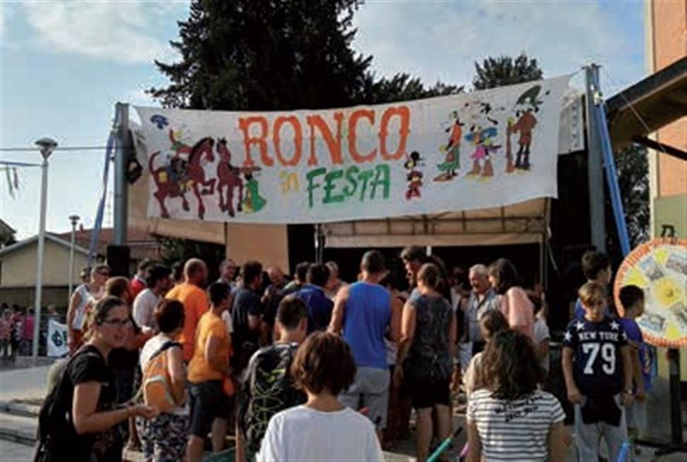 È festa a Ronco!
