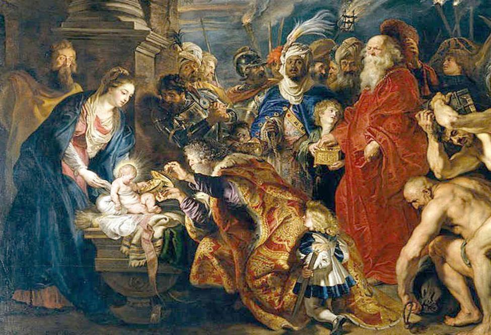 """In visita all'""""Adorazione dei Magi"""" di Artemisia Gentileschi"""