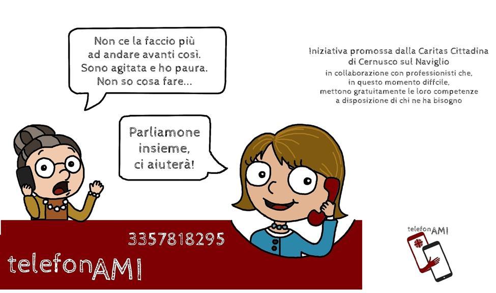 #TELEFONAMI, PER SENTIRTI MENO SOLO, PER AVERE RISPOSTE. PARLARNE PUO' AIUTARE!