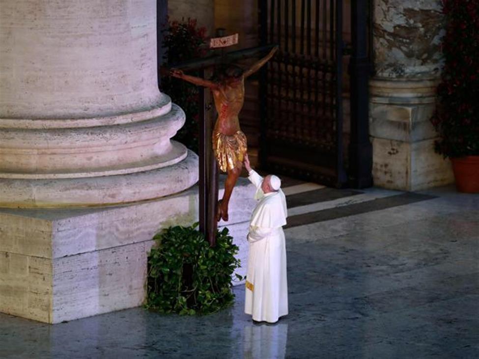 Venerdì 27 Marzo. Il testo integrale dell´omelia del Papa in tempo di epidemia