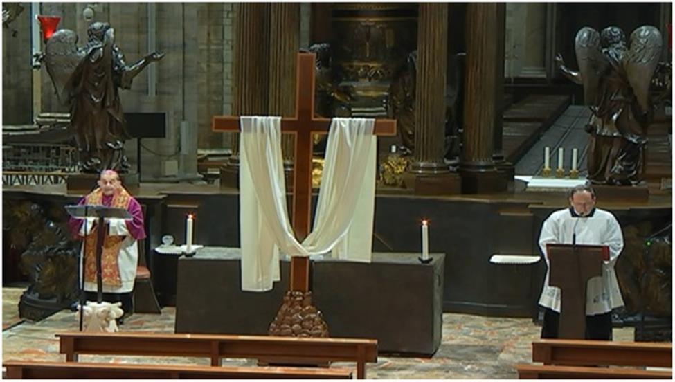 Via Crucis di zona con l´Arcivescovo in diretta tv, radio e web