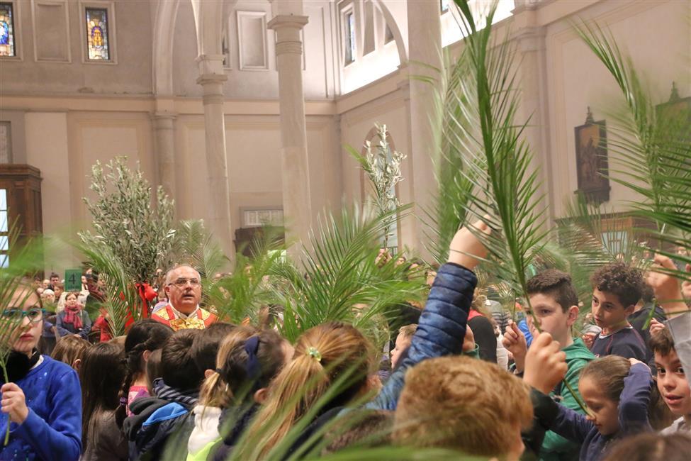 Settimana Santa 2020 - Domenica delle Palme. Orari e Saluto dei Sacerdoti