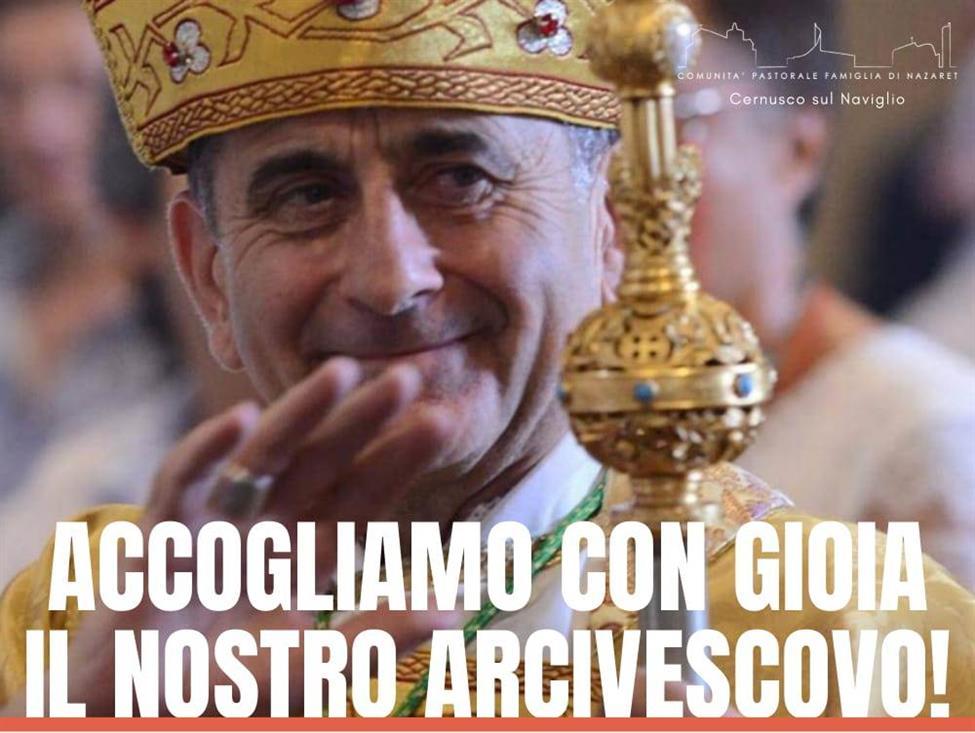 16 GIUGNO: ACCOGLIAMO CON GIOIA IL NOSTRO ARCIVESCOVO!
