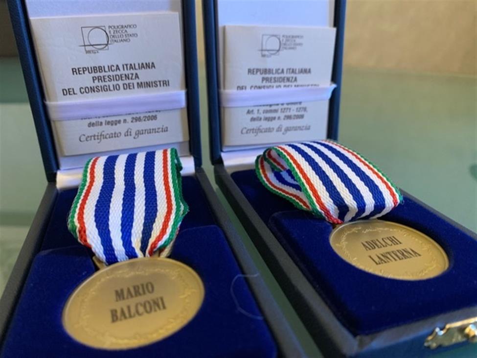 GIORNATA DELLA MEMORIA: Medaglia d'Onore alla Memoria ai cernuschesi Mario Balconi e Adelchi Lanterna