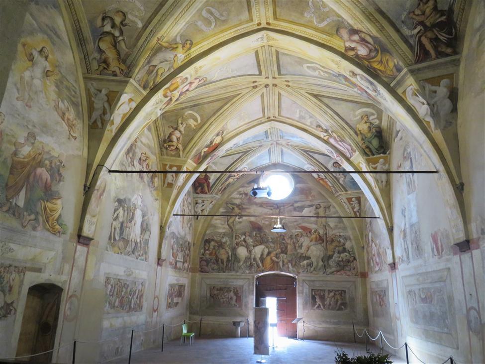 Sulle tracce della bellezza: gli affreschi del Romanino in Santa Maria della Neve a Pisogne (BS)